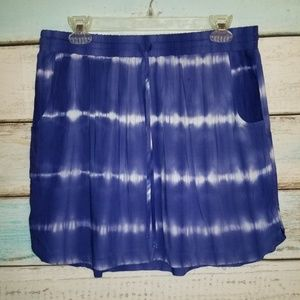 Merona Silky Skirt with Pockets size Large.